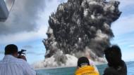 Vulkanausbruch legt Flugverkehr lahm