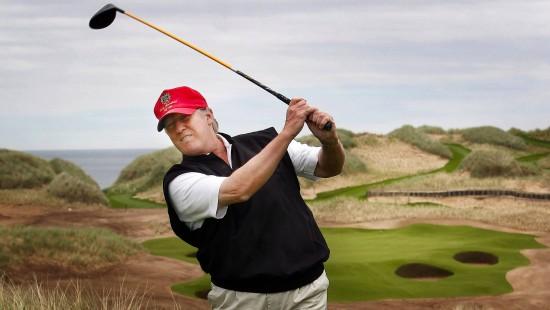 Schotten wütend auf Trump wegen Mauer und Desaster-Golfplatz