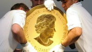 100-Kilo-Goldmünze bleibt spurlos verschwunden