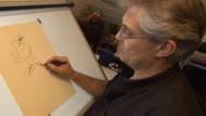 Dieser Mann zeichnet Donald Duck