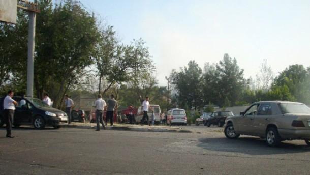 Viele Tote und Verletzte bei Anschlag in Tadschikistan