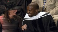 Rapper Kanye West ist jetzt Ehrendoktor