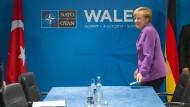 Kanzlerin Merkel wirft Russland Verletzung des Bündnisses vor