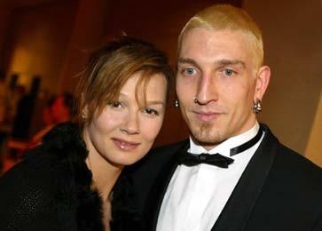 Das war einmal - Franziska und Stefan als Paar beim Ball des Sports 2004