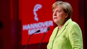 Merkel hält an Freihandelsabkommen mit Amerika fest