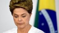 Dilma Rousseff verliert Parlamentsabstimmung zur Amtsenthebung