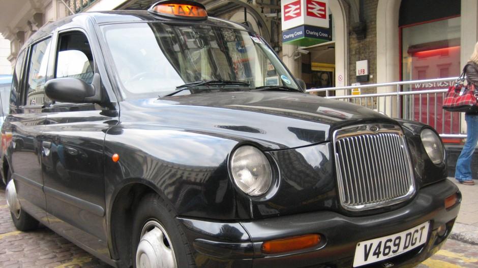 Taxifahren in London