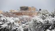Auch die griechische Wirtschaft ist erstarrt.