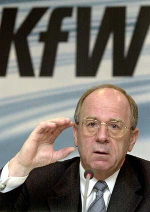 KfW-Chef <b>Hans Reich</b> - kfw-chef-hans-reich