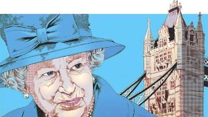 Nicht alle sind so gelassen wie die Queen