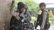 Indonesische Polizei nimmt drei Terrorverdächtige fest