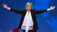 Wahlkämpfer für Marine Le Pen