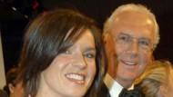 Immer im Mittelpunkt: Katarina Witt und Franz Beckenbauer