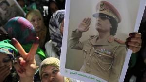 Amerikaner suchen offenbar nach Asyl für Gaddafi