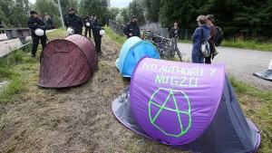 Streit um G-20-Protestcamp in Entenwerder