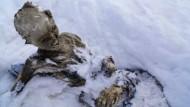 Mumifizierte Bergsteiger entdeckt