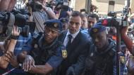 Pistorius muss für fünf Jahren ins Gefängnis