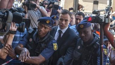 Oscar Pistorius vor der Urteilsverkündung
