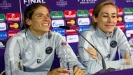Spannung vor dem Champions League Finale der Frauen