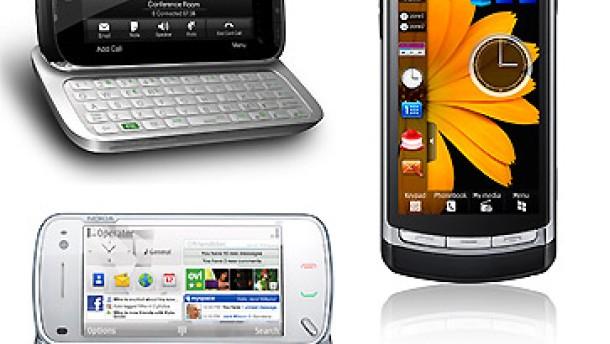 Drei Handys und zwei tote Betriebssysteme