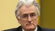 Karadzic nennt Verurteilung monströs