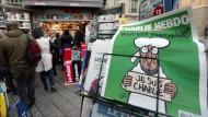Neue Charlie Hebdo-Ausgabe ausverkauft