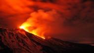 Europas höchster Vulkan spuckt wieder