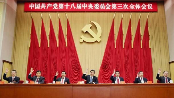 Pekings peinlich entblößte Machtelite