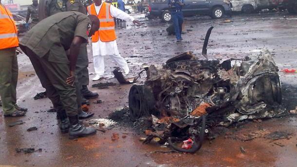 Angriff auf Polizeizentrale in Abuja