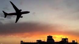 Air-Berlin-Flieger dreht Ehrenrunde über Düsseldorf