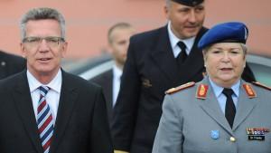 Die mächtigen Frauen der Bundeswehr
