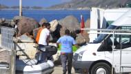 Boot vor türkischer Küste gesunken