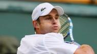 Selbstbewusster Amerikaner: Dass er in Wimbledon unterschätzt wird, stört ihn offenbar nicht