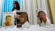 Acht Drogenhändler in Indonesien hingerichtet