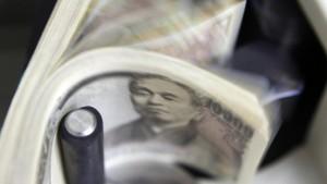 Der Yen steigt auf ein Rekordhoch