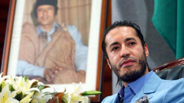 Gaddafi-Sohn flüchtet nach Niger