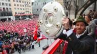 Meisterfeier beim FC Bayern München