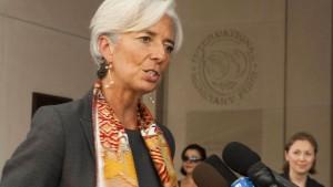 Lagarde will IWF effizienter machen
