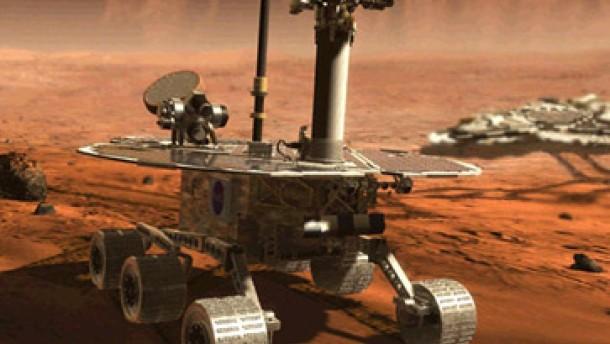 Schlechtes Wetter: Kein Flug zum Mars