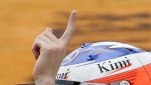 Räikkönen nutzt die erste Schwäche von Renault