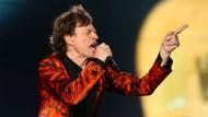 Mick Jagger inkognito in Bogotá
