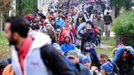 Die Flüchtlingskrise wird Weihnachten nicht enden