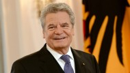 Bundespräsident Gauck gibt Erklärung ab