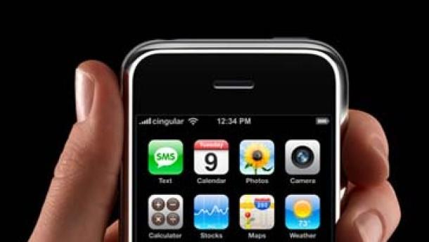 Das Apple-Handy ist da