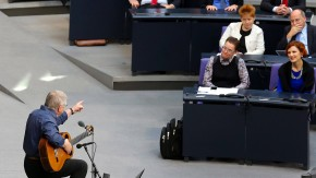 Kommentar zur Feierstunde im Bundestag zu 25 Jahre Mauerfall: Der elende Rest