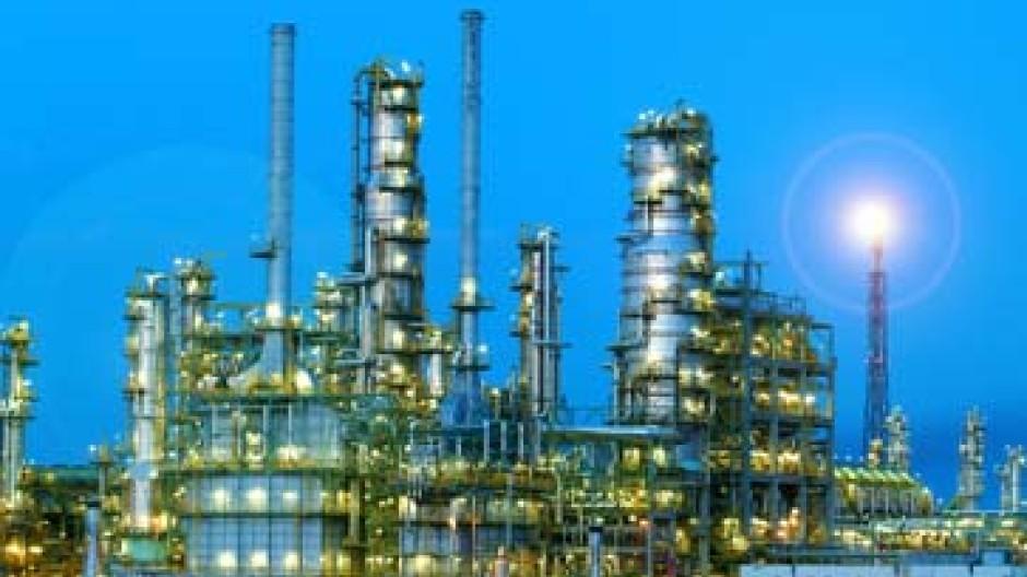 Arbeiten derzeit am Anschlag: Öl-Raffinerien