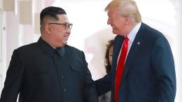 Trump wirbt mit Kurzfilm um Kim