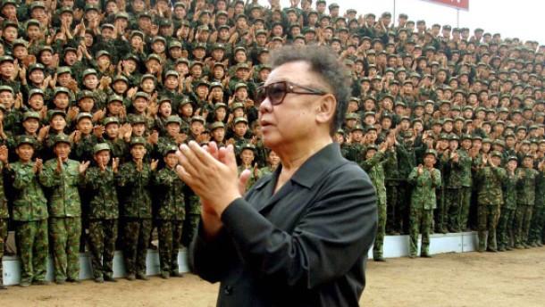 Brief Nach Nordkorea : Nordkorea martialische sprache bei der suche nach