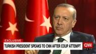 Erdogan spricht über Gülen