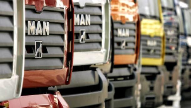 Übernahmeofferte von Scania für MAN steht bevor